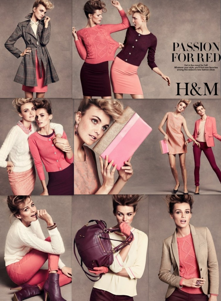 """H&M Fall 2012 Lookbook"""