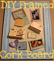 DIY  Decorative Cork Board
