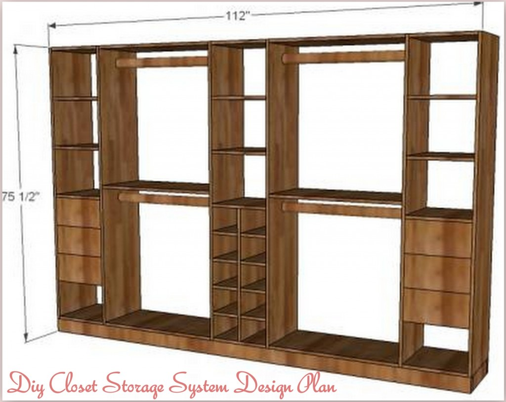 Pdf diy closet organizer plans diy download closet office for How to design closet storage