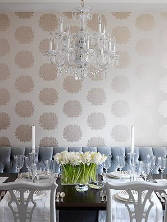 Dinning Room 2012 Wallpaper Trends