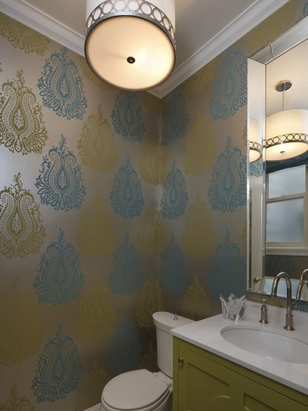 Metallic Wallpaper 2012 Wallpaper Trends