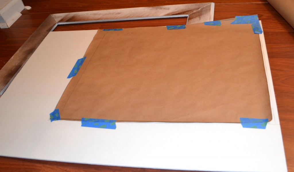 Template to use to cut foam 1024x599 DIY Framed Cork Board