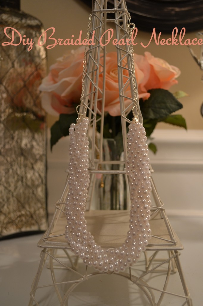 """""""Braided Pearl Necklace"""""""