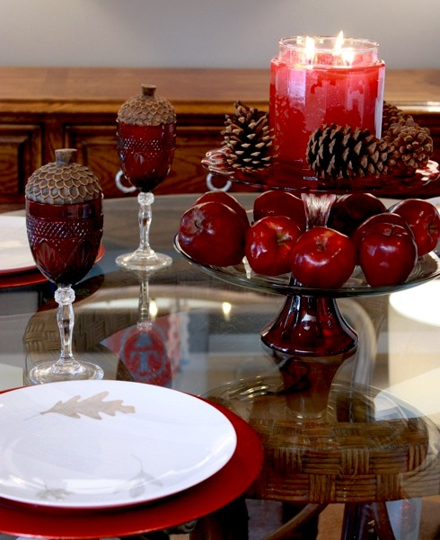 Fall Floating Candle Centerpieces: How To Decorate Your Home For Fall