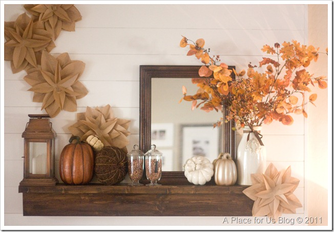 Fall Mantle 2 Fall Mantle Inspirations