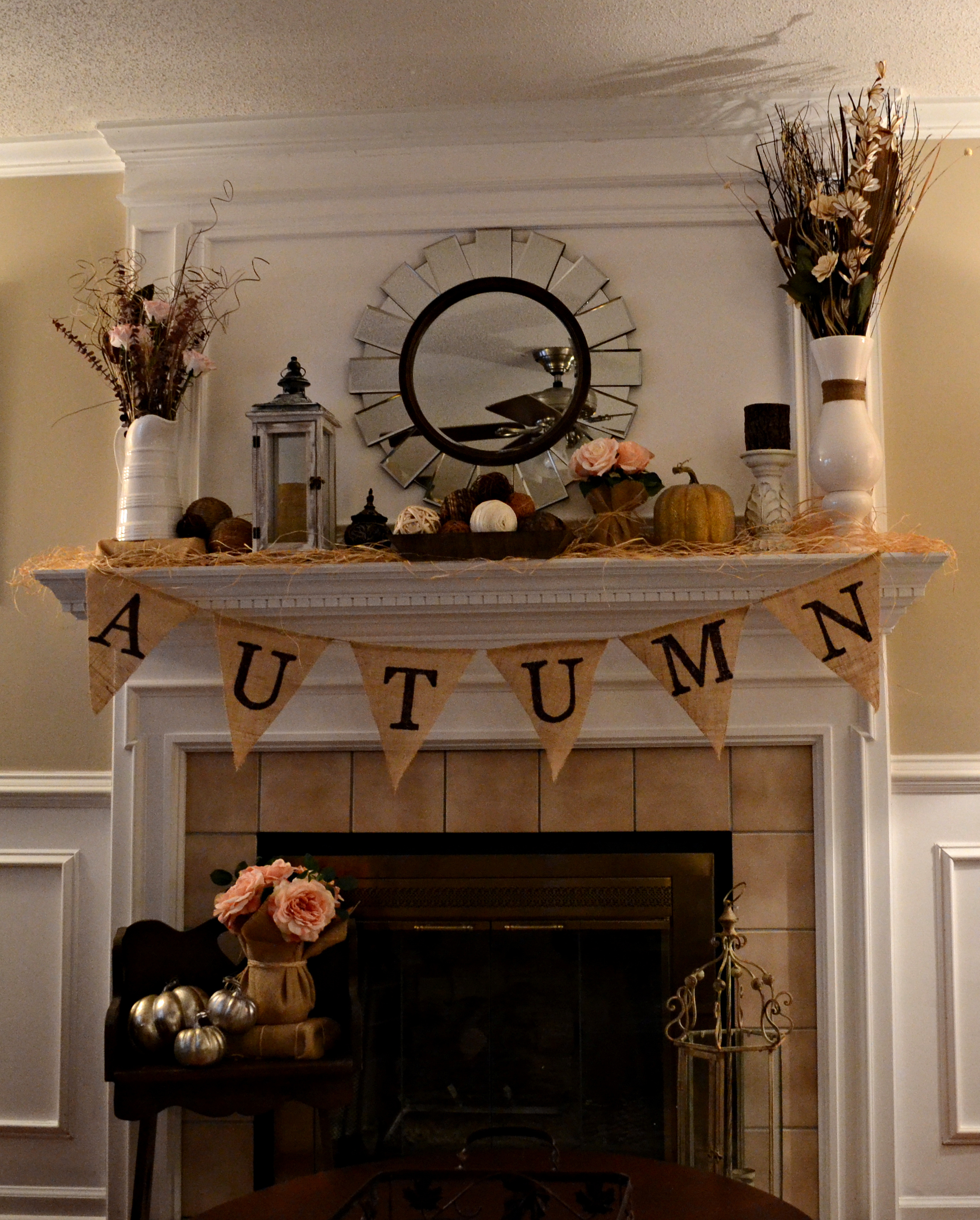 Fall Fireplace Mantels: My Love Of Style – My Love Of Style