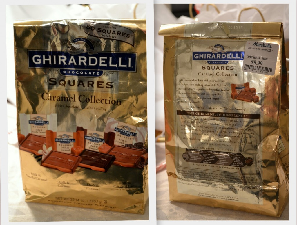 Ghiradelli Chocolate 1024x779 DIY Holiday Party Favors