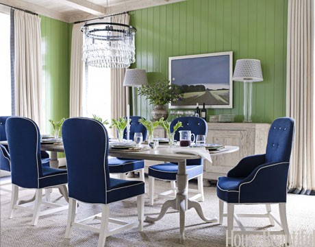 Olympian Blue Dining Room Fall Color Report: Olympian Blue