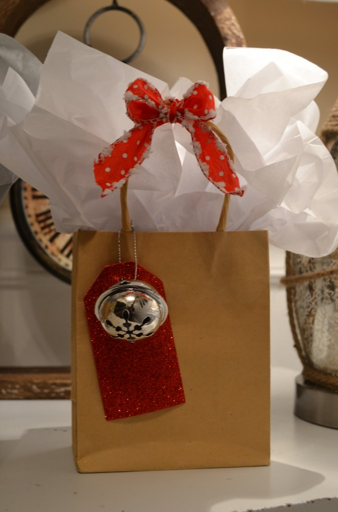 Red Silver Favor Bag 676x1024 DIY Holiday Party Favors