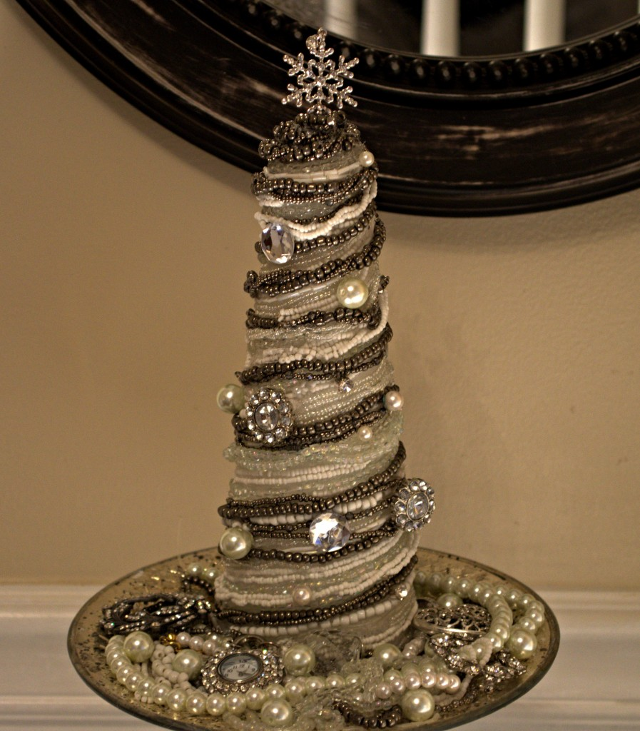Vintage Glam Cone Christmas Tree