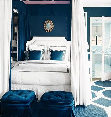 """Olympian Blue Bedroom"""