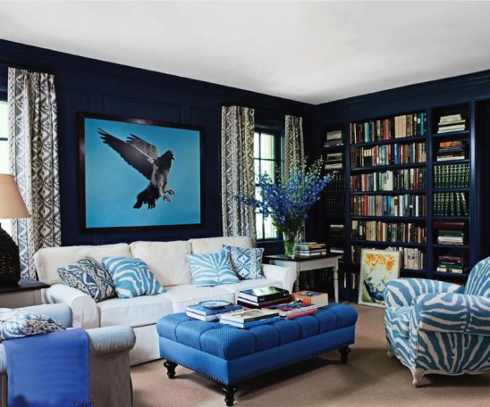 How To Decorate With Different Shades Of Blue