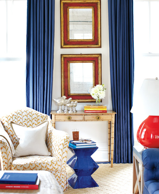 olympian blue curtains Fall Color Report: Olympian Blue
