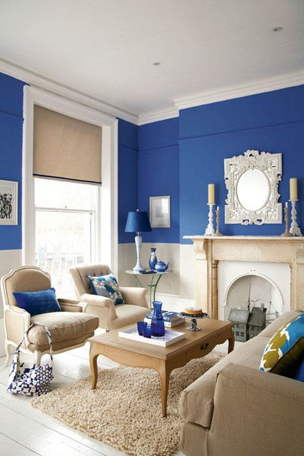 olympian blue walls Fall Color Report: Olympian Blue