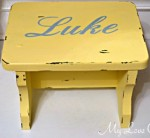 personalized stool e1353906210442 150x138 Personalized Vintage Step Stool Tutorial