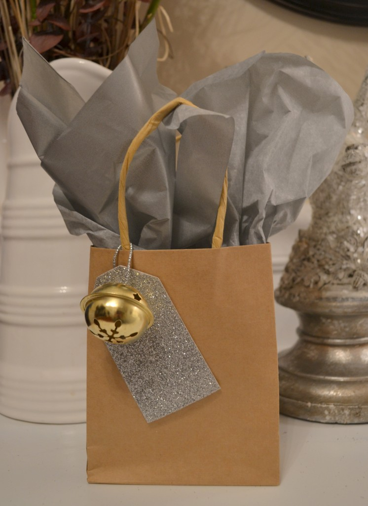 silver and gold favor bag 746x1024 DIY Holiday Party Favors