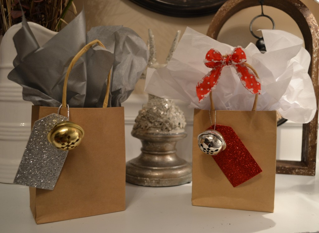 silver and gold with red and gold1 1024x748 DIY Holiday Party Favors