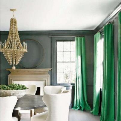 ultramarine green curtains Fall Color Report: Ultramarine Green