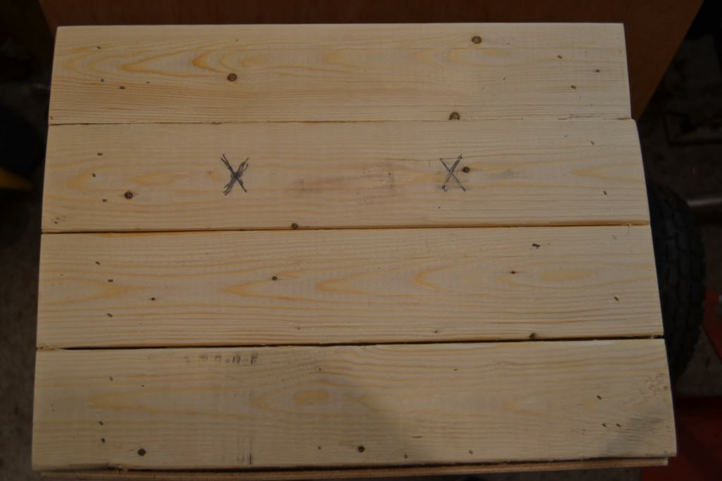 mark Xs 1024x682 DIY Wooden Crate