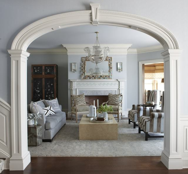 traditional living room Decorating Style Series: Classic Traditional