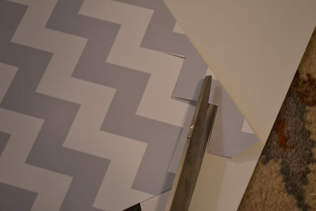 """cut grey chevron pattern"""