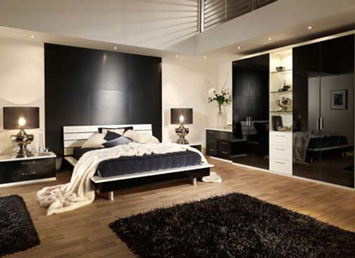 Decorating style series contemporary my love of style for Luxury bedroom inspiration