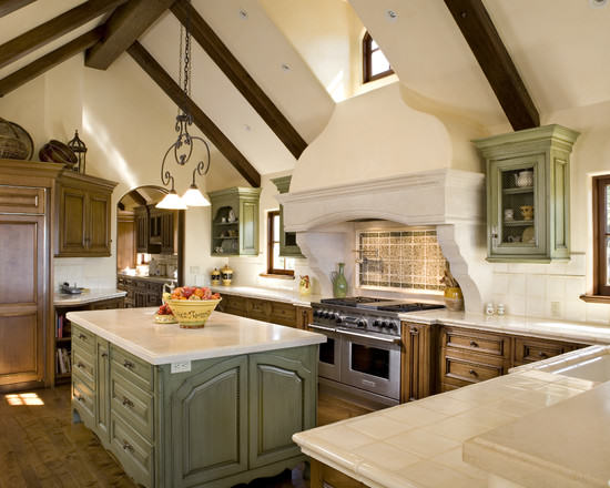 french country kitchen 1 Decorating Style Series: French Country