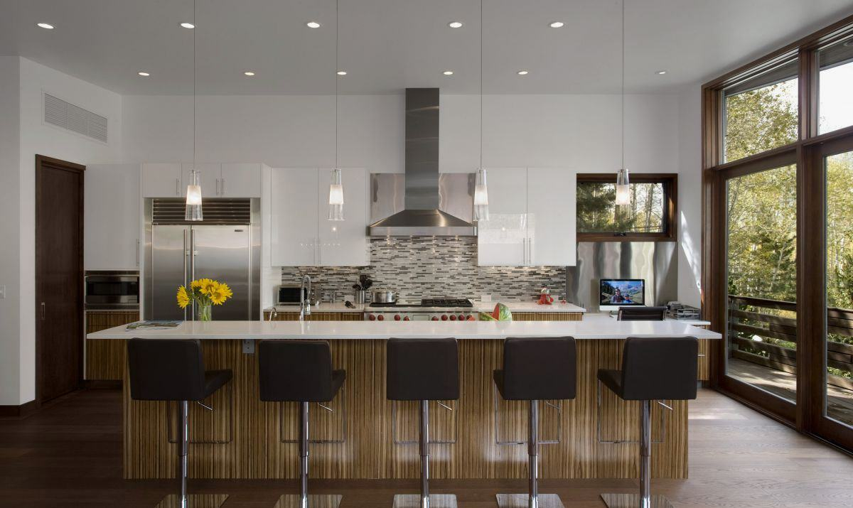 remarkable modern house interior design kitchen   Decorating Style Series: Contemporary   My Love of Style ...