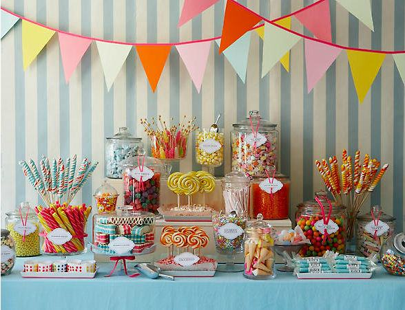 Rainbow Candy Buffet Amy Atlas How to Create a Candy Buffet