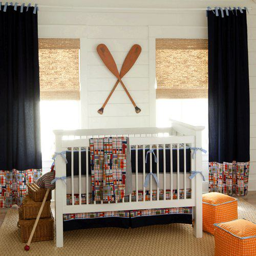 coastal crib bedding Nursery Inspirations   Part 1