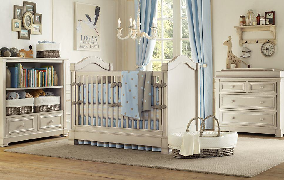 light blue nursery Nursery Inspirations   Part 1