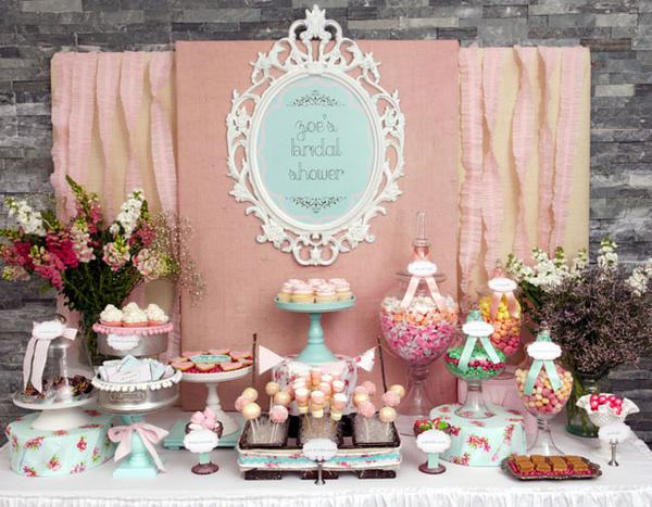 shabby chic How to Create a Candy Buffet