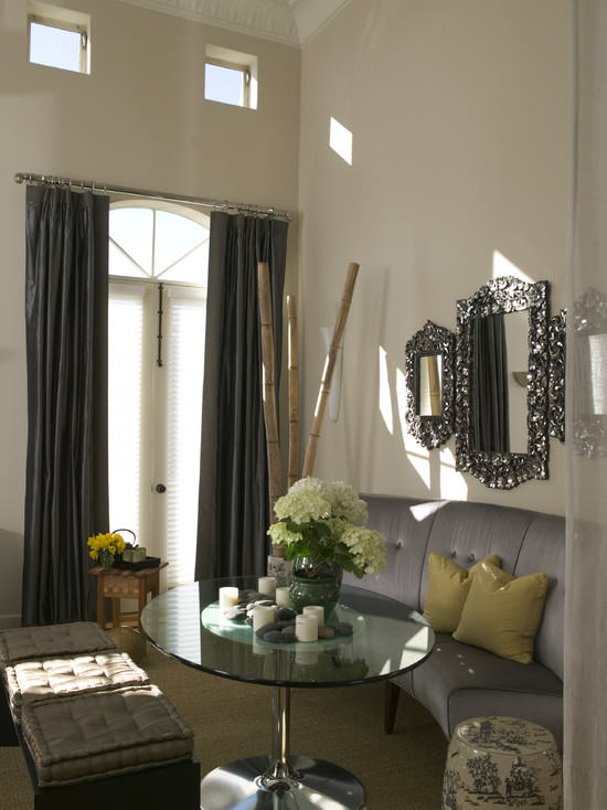Hollywood glam diningroom Decorating Style Series: Hollywood Regency
