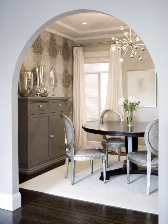 Decorating style series hollywood regency my love of for Regency dining room