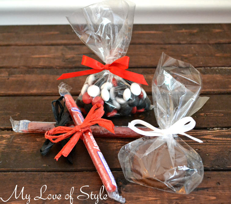 Edible Hockey Inspired Party Favors DIY Hockey Inspired Party Favors