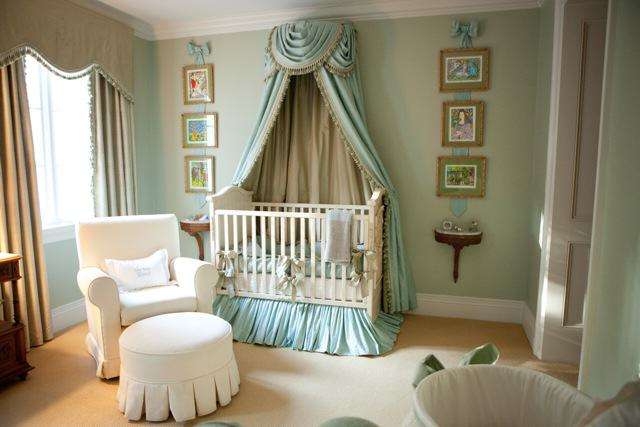 Bed Crown And Crib Canopy Inspirations