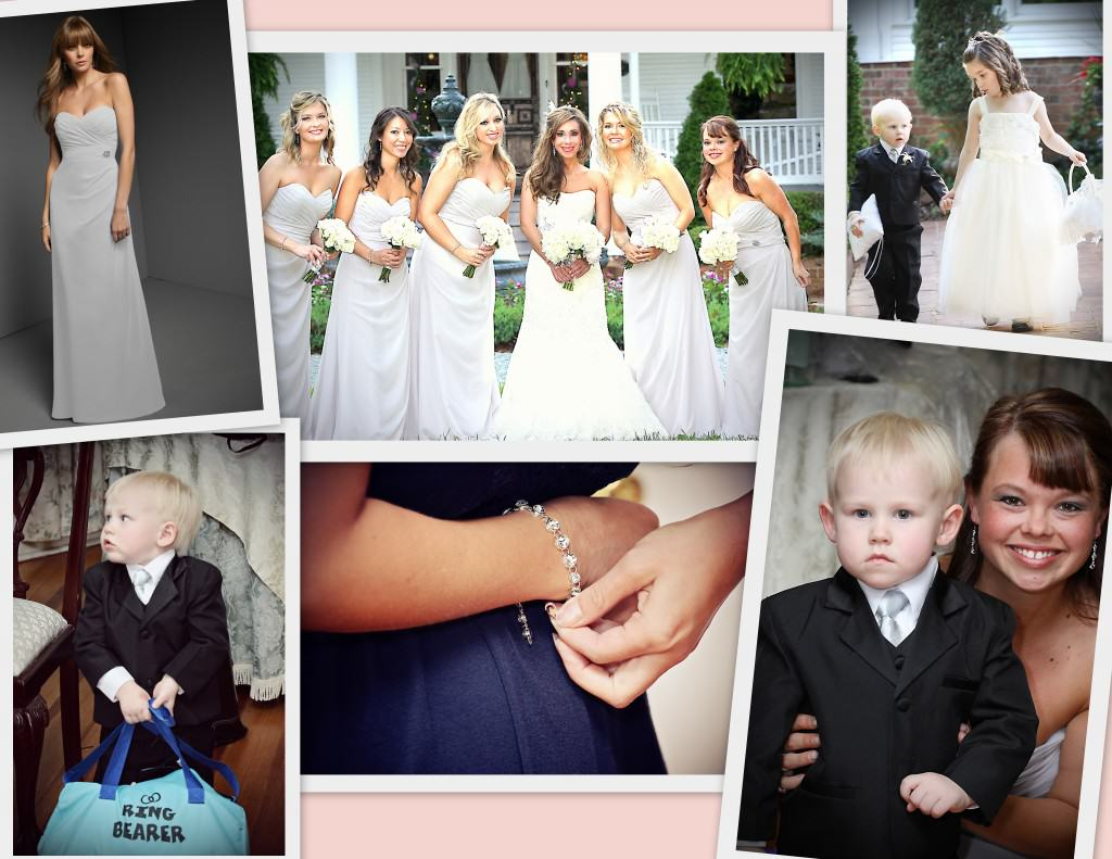 Bridesmaids Ring Bearer and Ring Bearer 1024x791 My Wedding Story