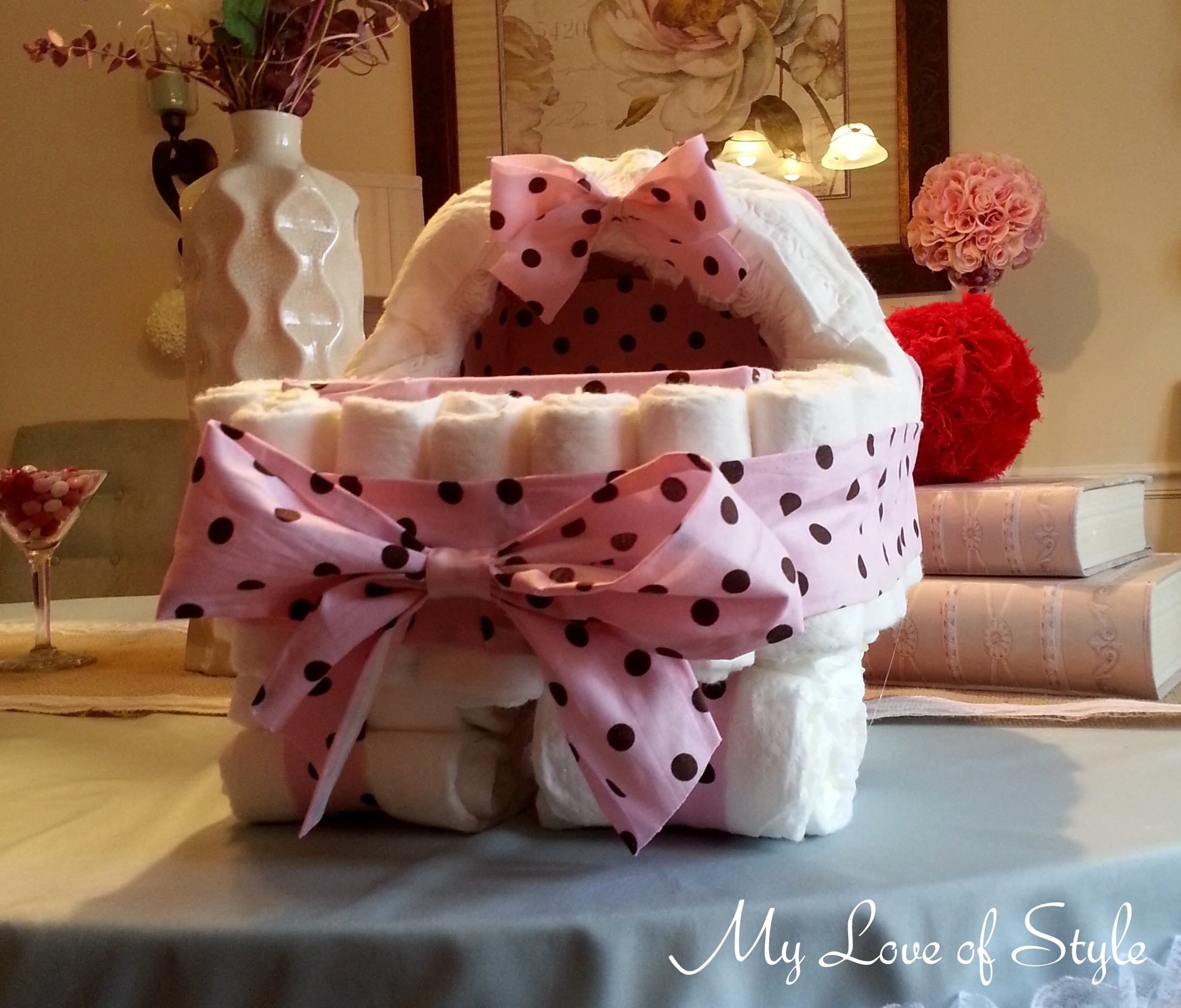 Baby Shower Cakes Kenya ~ Wood work how to make a baby cradle diaper cake pdf plans
