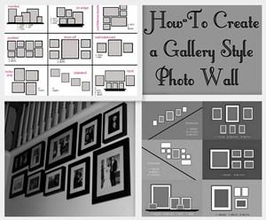 How-to Gallery Style Photo Wall
