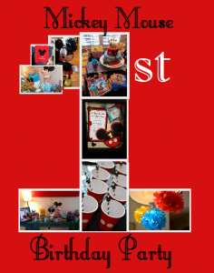 Mickey Mouse 1st Birthday Party Party 236x300 Mickey Mouse Themed 1st Birthday Party