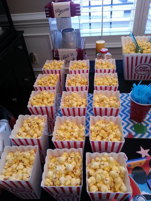 Popcorn1 Mickey Mouse Themed 1st Birthday Party