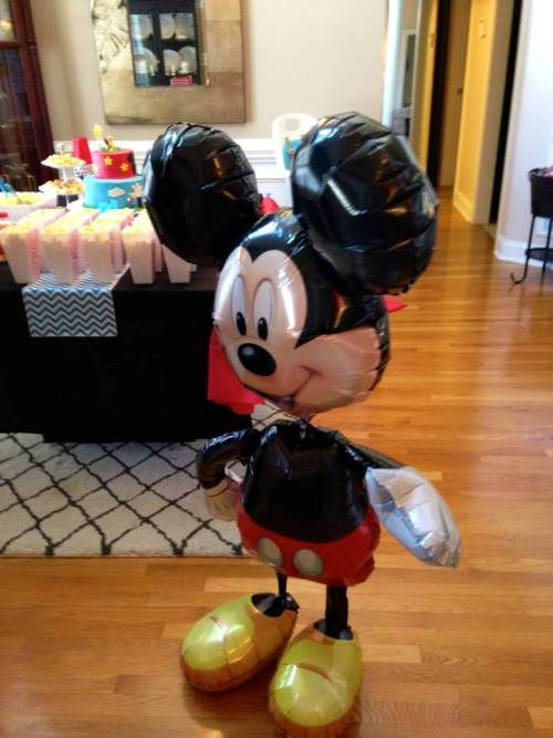 mickey mouse balloon Mickey Mouse Themed 1st Birthday Party