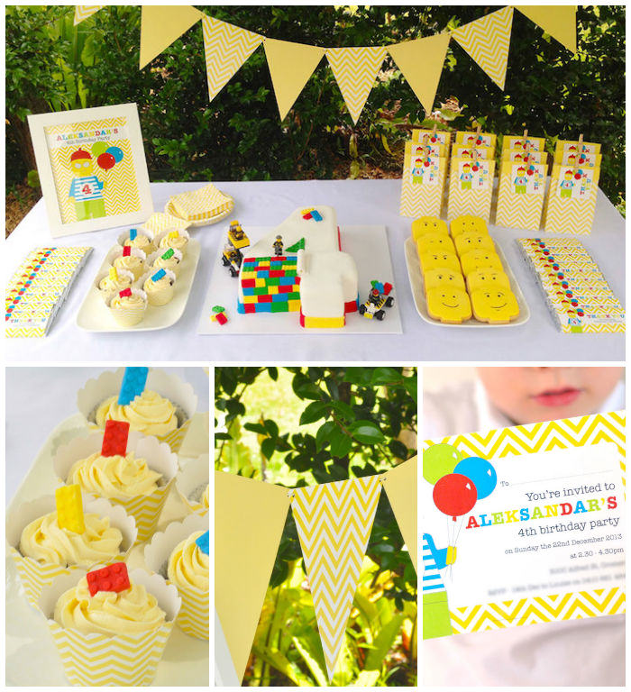 legos How to Plan the Perfect Kids Birthday Party