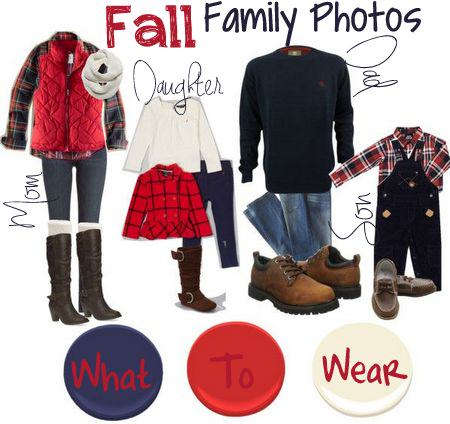Fall Family Photos - What to Wear